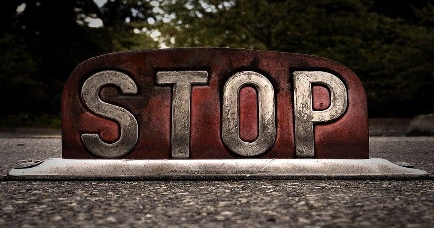 El arte de parar para seguir avanzando